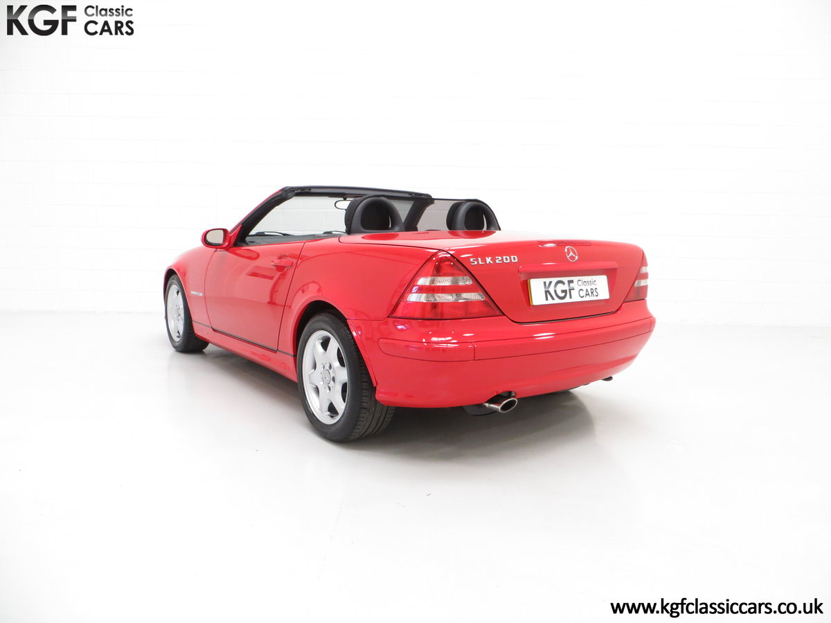 2001 An Immaculate Mercedes-Benz SLK200 Kompressor (R170) SOLD (picture 4 of 6)