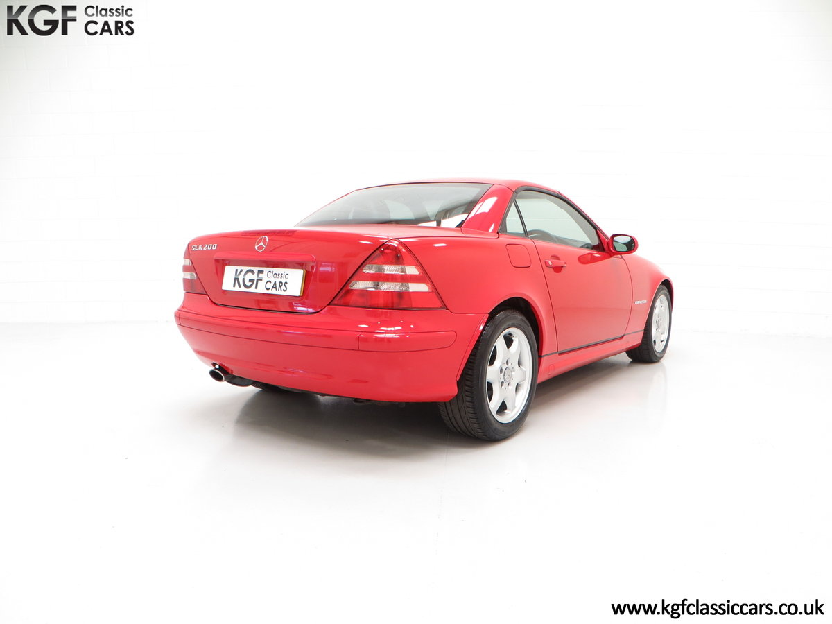 2001 An Immaculate Mercedes-Benz SLK200 Kompressor (R170) SOLD (picture 5 of 6)