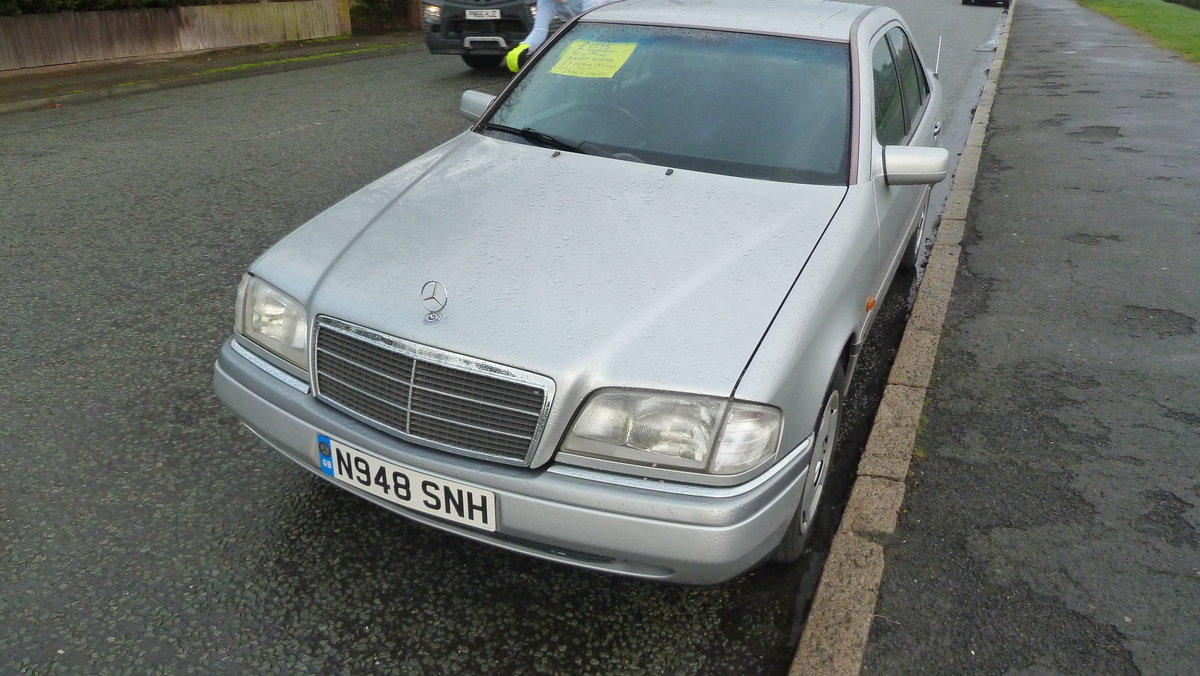 1995 Mercedes Elegance c180 For Sale (picture 6 of 6)