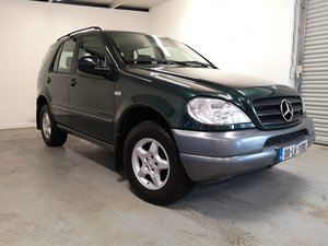 2000 MERCEDES ML 270Cdi LEFT HAND DRIVE STUNNING JEEP