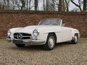 1960 Mercedes Benz 190SL 2nd owner, matching numbers and colours, For Sale