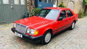1989 April W124 MB 300e auto-1 owner for 25 years