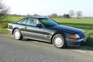 1991 H MERCEDES 500SL ORIGINAL UK CAR WITH JUST 45,000 MILES For Sale