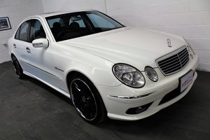 2005 Mercedes-Benz W211 E55 AMG,24,887 miles,Alabaster white