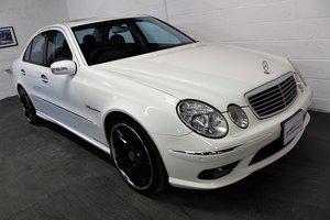 2005 Mercedes-Benz W211 E55 AMG,24,887 miles,Alabaster white For Sale