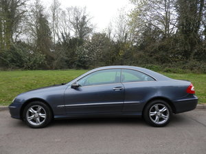 MERCEDES CLK240 AVANTGARDE COUPE AUTO.. SAT NAV.. LOW MILES SOLD