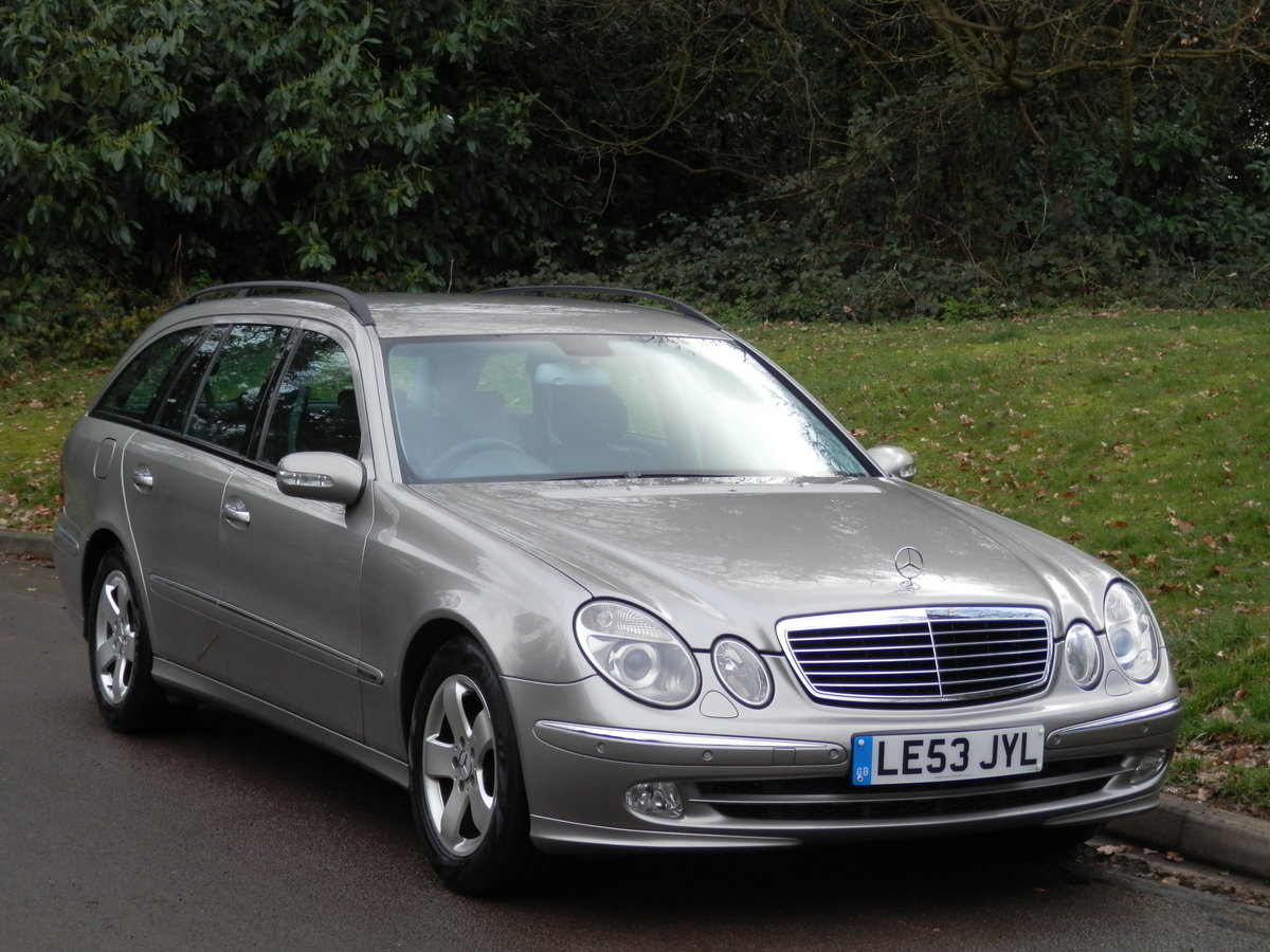 MERCEDES E270 CDi AVANTGARDE ESTATE.. TOP SPEC.. 1 OWNER/FSH For Sale (picture 2 of 6)