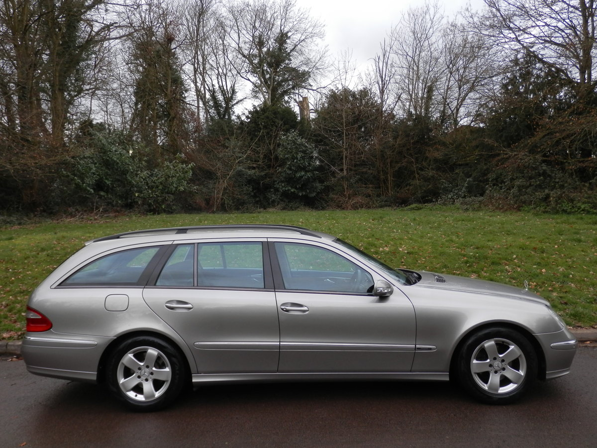 MERCEDES E270 CDi AVANTGARDE ESTATE.. TOP SPEC.. 1 OWNER/FSH For Sale (picture 6 of 6)