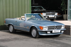 1987 MERCEDES-BENZ 300 SL | STOCK #2090