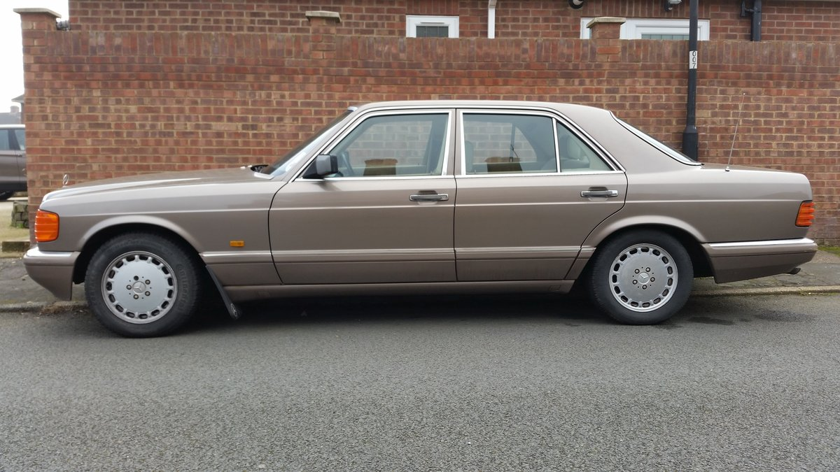Mercedes Benz W126 1988, 300SE, 190HP For Sale (picture 1 of 6)