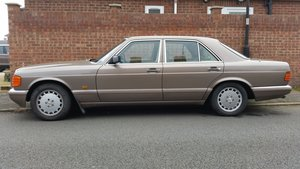 Mercedes Benz W126 1988, 300SE, 190HP