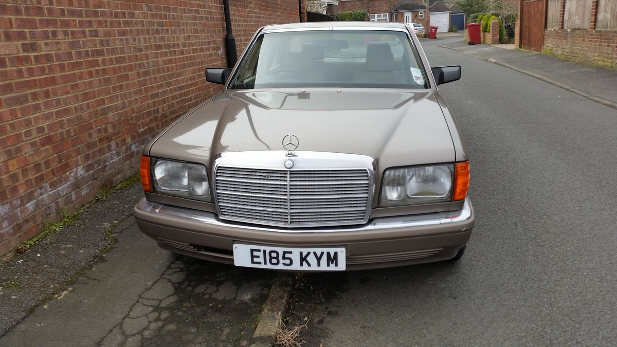 Mercedes Benz W126 1988, 300SE, 190HP For Sale (picture 2 of 6)