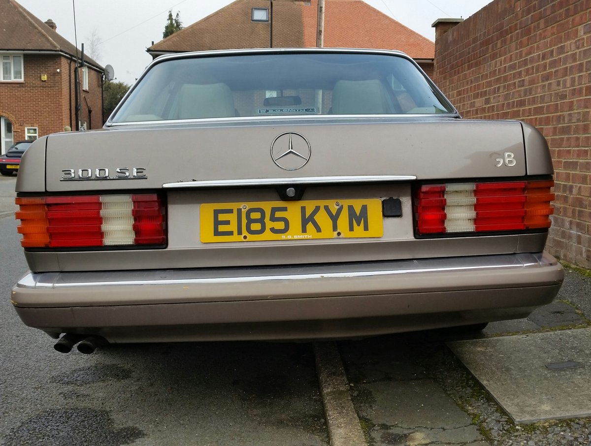 Mercedes Benz W126 1988, 300SE, 190HP For Sale (picture 3 of 6)