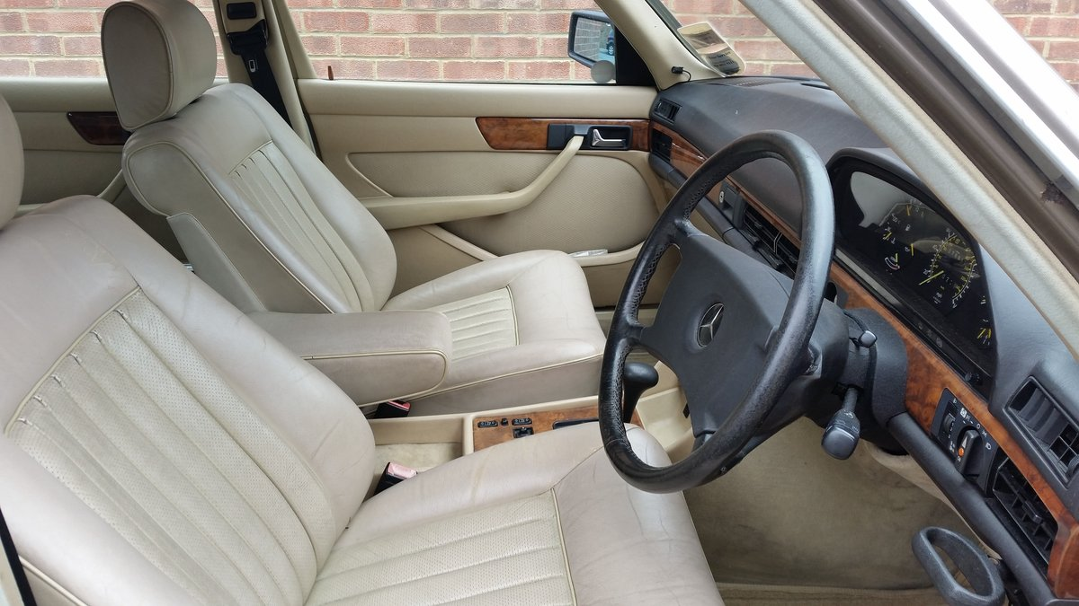 Mercedes Benz W126 1988, 300SE, 190HP For Sale (picture 4 of 6)