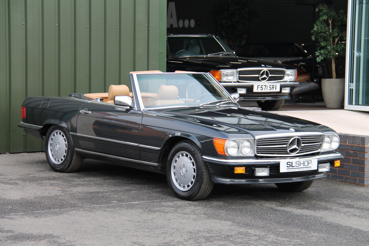 1988 MERCEDES-BENZ 560 SL LHD | STOCK #2075 For Sale (picture 1 of 6)