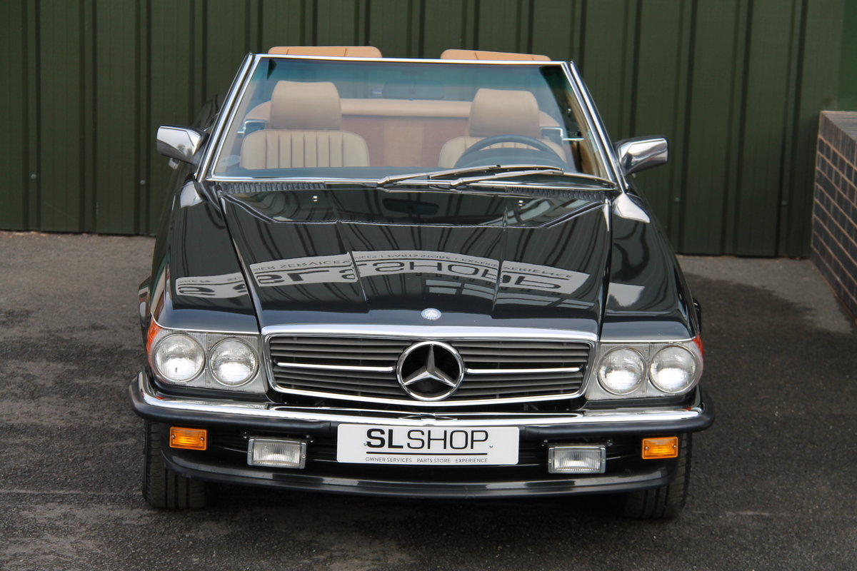 1988 MERCEDES-BENZ 560 SL LHD | STOCK #2075 For Sale (picture 4 of 6)