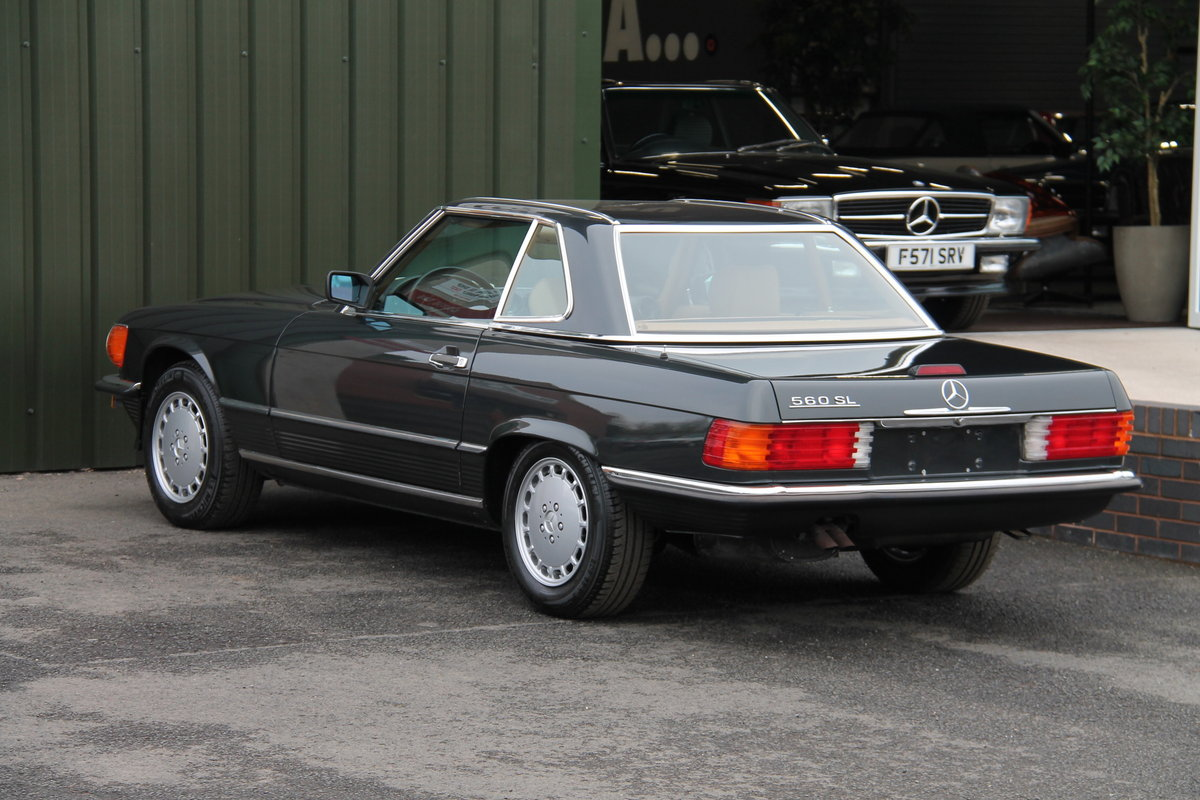 1988 MERCEDES-BENZ 560 SL LHD | STOCK #2075 For Sale (picture 5 of 6)