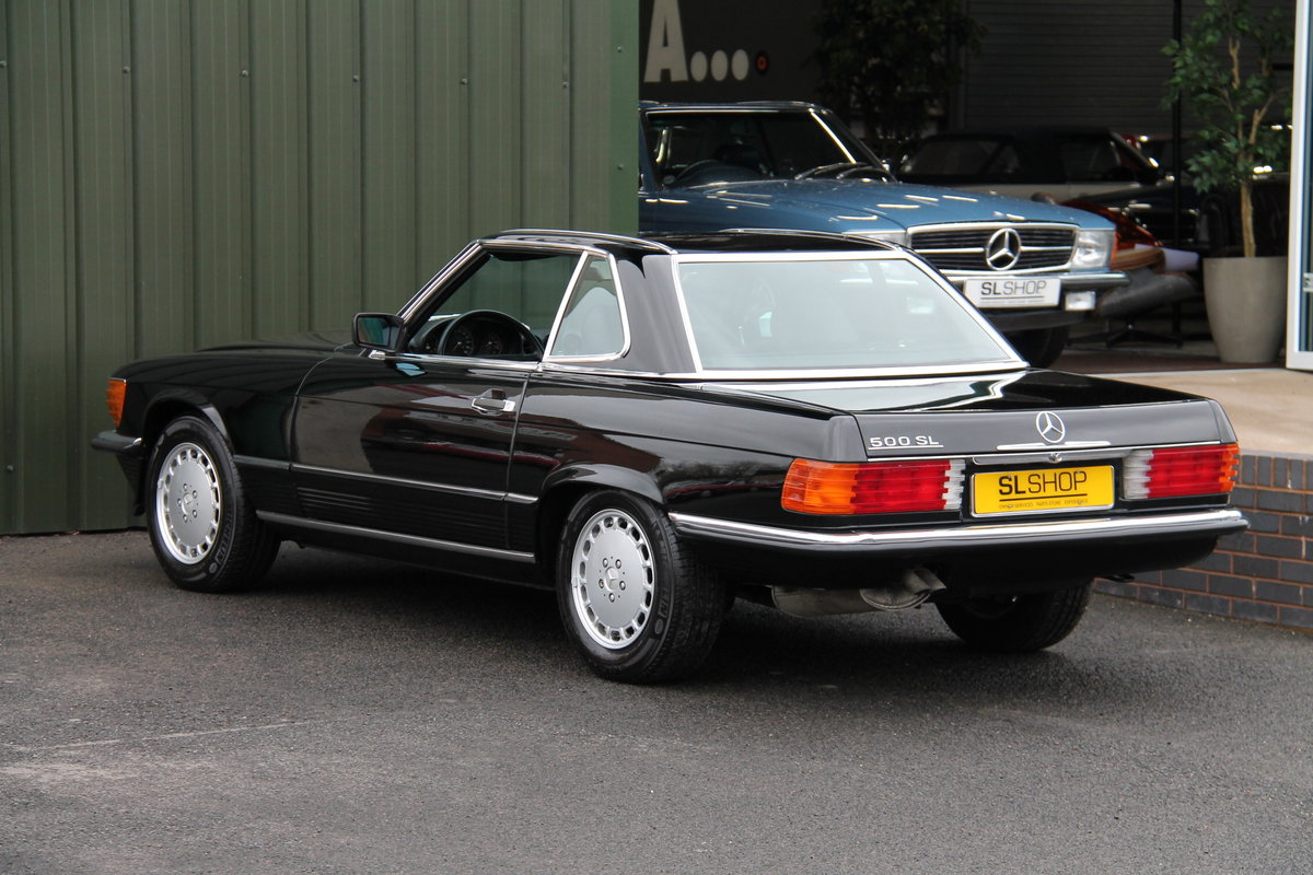 1989 MERCEDES-BENZ 500 SL LHD | STOCK #2028 For Sale (picture 5 of 6)
