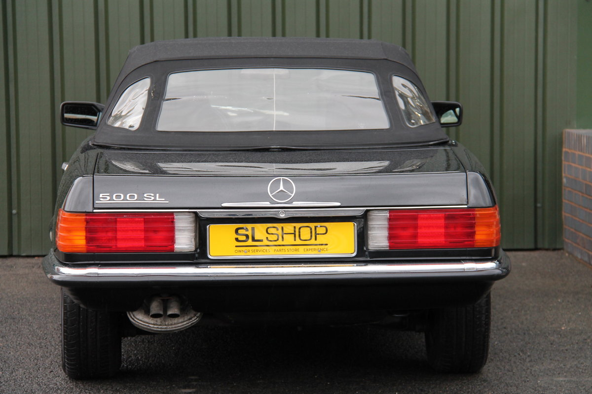 1989 MERCEDES-BENZ 500 SL LHD | STOCK #2028 For Sale (picture 6 of 6)