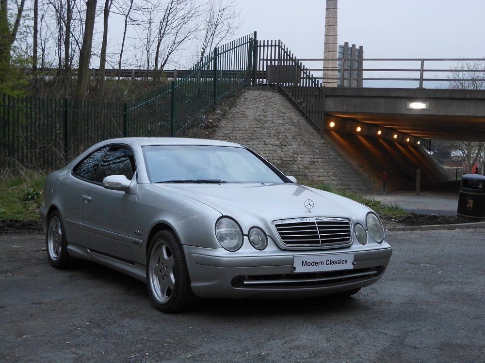 2000 Mercedes CLK 5.5 AMG Auto 98,000 For Sale (picture 1 of 6)
