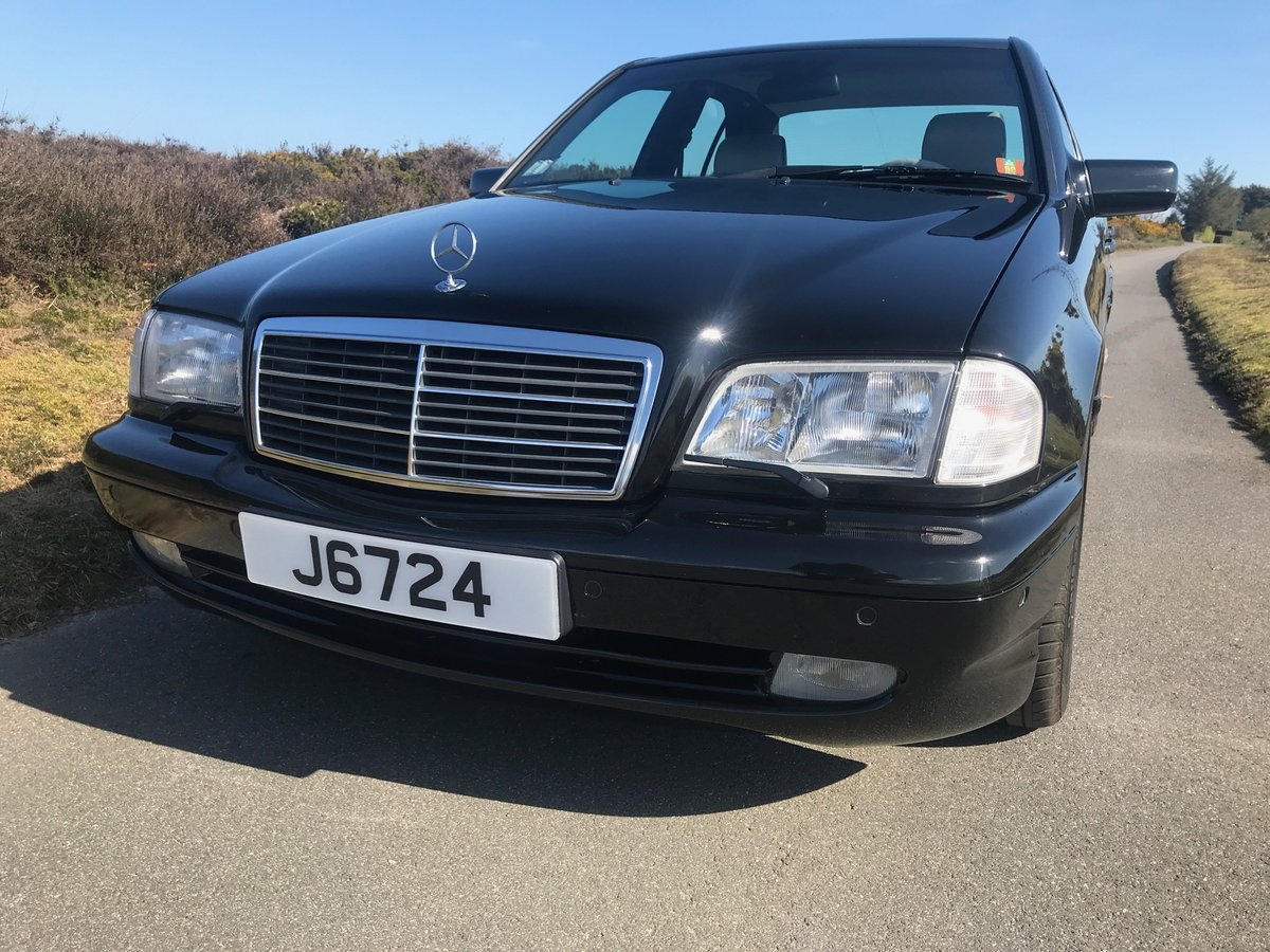 1998 Mercedes Benz AMG C43 LHD Low Mileage & ownership FSH For Sale (picture 1 of 6)