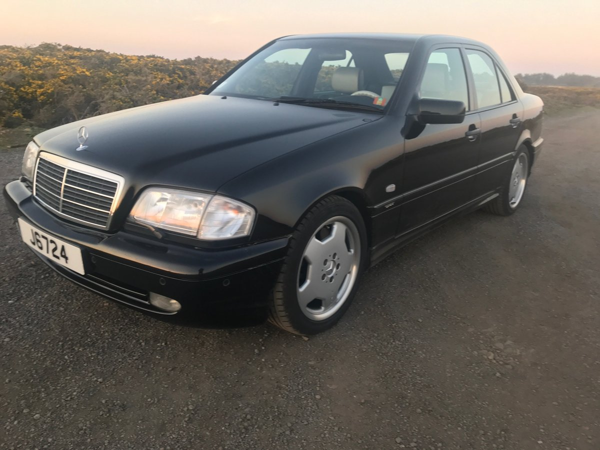 1998 Mercedes Benz C43 AMG LHD Low Mileage & ownership For Sale (picture 2 of 6)