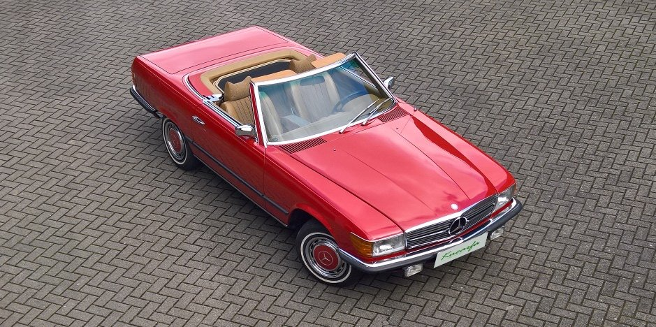 1972 Mercedes 350 SL (European car; 112.000 km; top condition) For Sale (picture 1 of 6)
