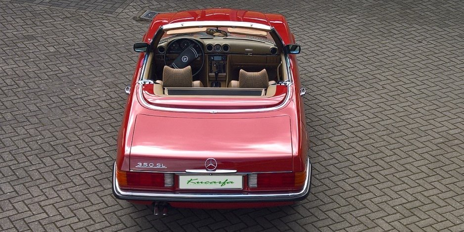 1972 Mercedes 350 SL (European car; 112.000 km; top condition) For Sale (picture 3 of 6)