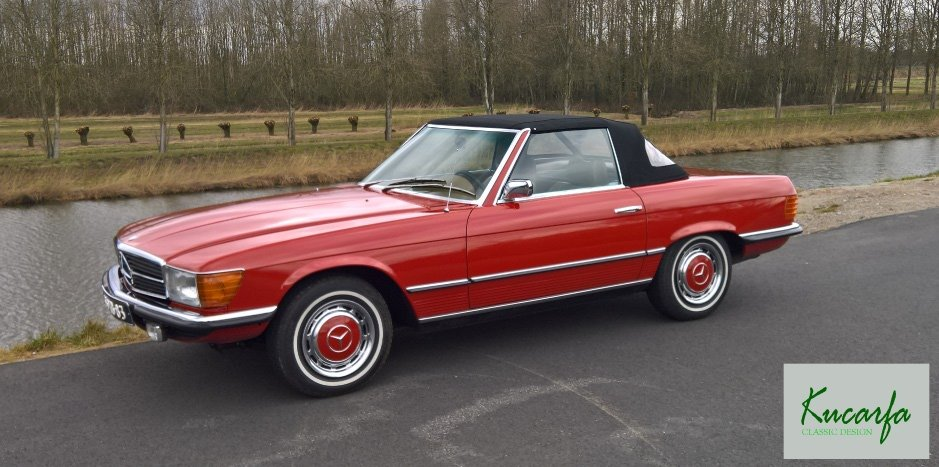 1972 Mercedes 350 SL (European car; 112.000 km; top condition) For Sale (picture 4 of 6)