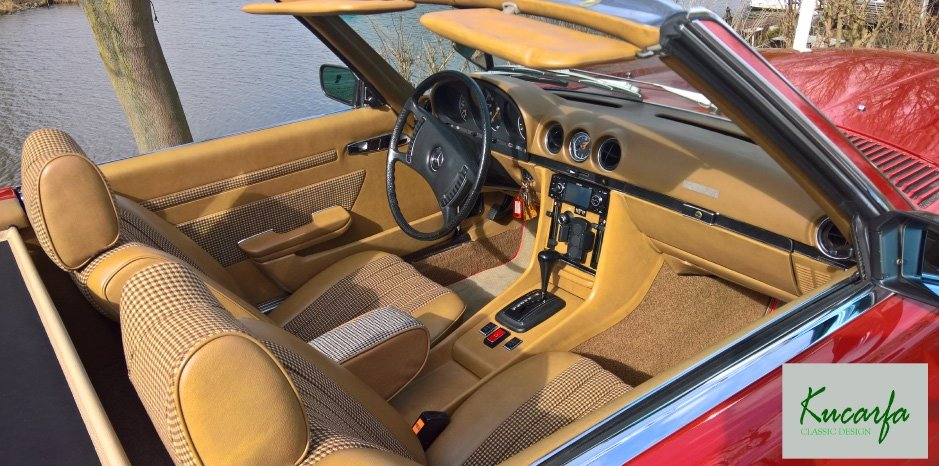 1972 Mercedes 350 SL (European car; 112.000 km; top condition) For Sale (picture 5 of 6)