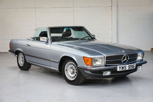 1982 Mercedes-Benz 380SL -  SOLD by Auction