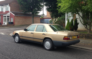 1986 Mercedes-Benz 300D Auto For Sale