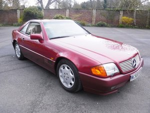 **REMAINS AVAILABLE**1992 Mercedes 300SL 24 For Sale by Auction