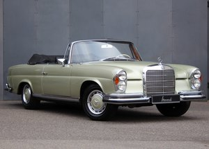 1968 Mercedes-Benz W111/112 280 SE Cabriolet LHD For Sale