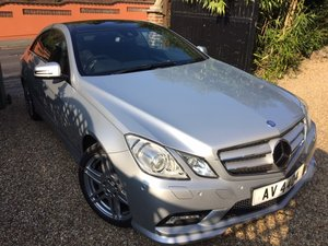 2010 Mercedes E500 Sport Coupe 5.5 V8 18k Miles  For Sale