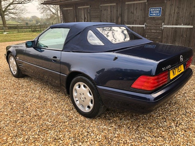1996 Mercedes SL 500 ( 129-series ) For Sale (picture 3 of 6)