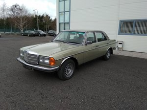 1981 Immaculate W123 Mercedes 280E For Sale For Sale