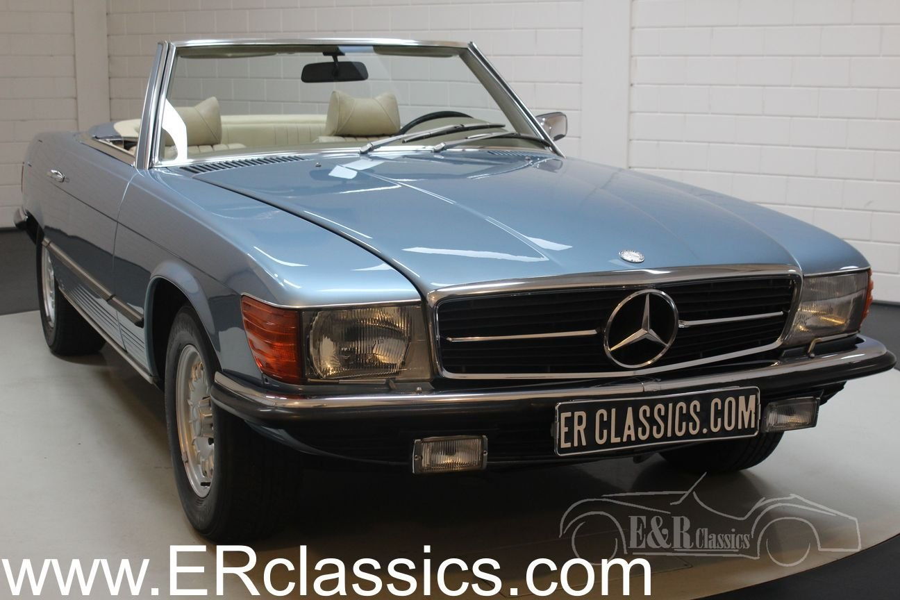 Mercedes-Benz 280SL 1975 Hellblau metallic For Sale (picture 1 of 6)