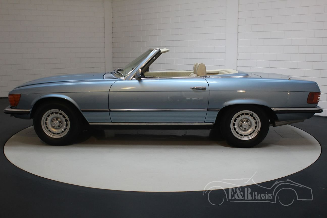 Mercedes-Benz 280SL 1975 Hellblau metallic For Sale (picture 5 of 6)