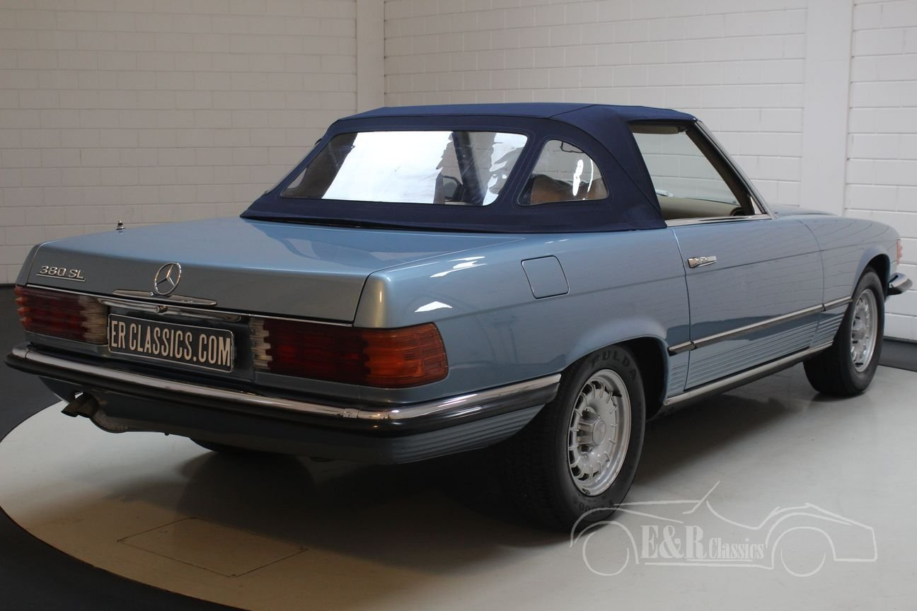 Mercedes-Benz 280SL 1975 Hellblau metallic For Sale (picture 6 of 6)