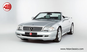 2001 Mercedes R129 SL500 Silver Arrow /// 1 Owner and 14k Miles For Sale