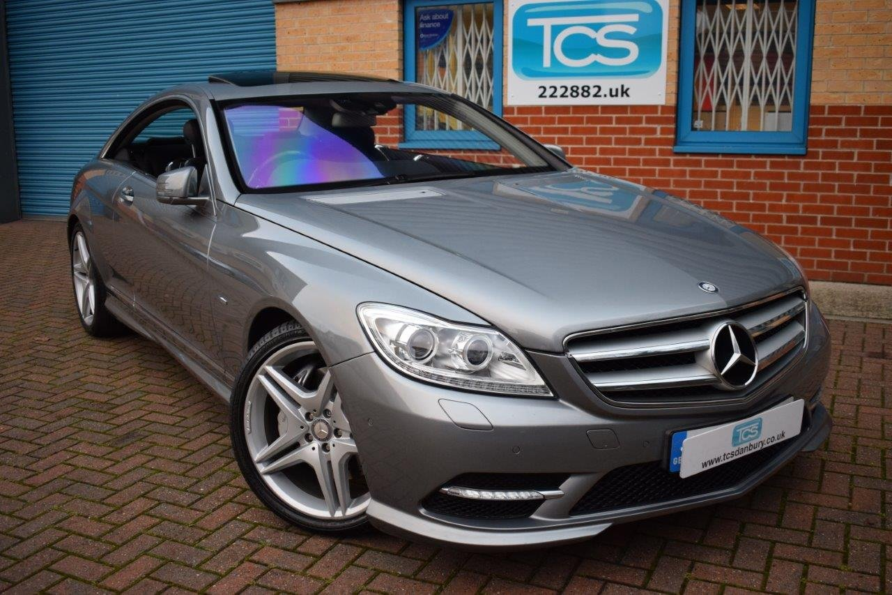 2010 Mercedes CL500 AMG 4.7i V8 Twin-Turbo Coupe 7G Automatic SOLD (picture 1 of 6)
