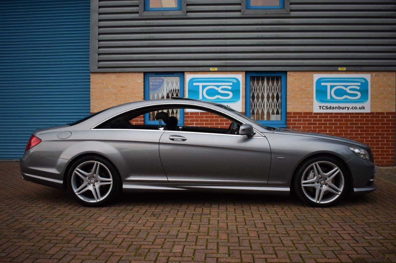 2010 Mercedes CL500 AMG 4.7i V8 Twin-Turbo Coupe 7G Automatic SOLD (picture 3 of 6)