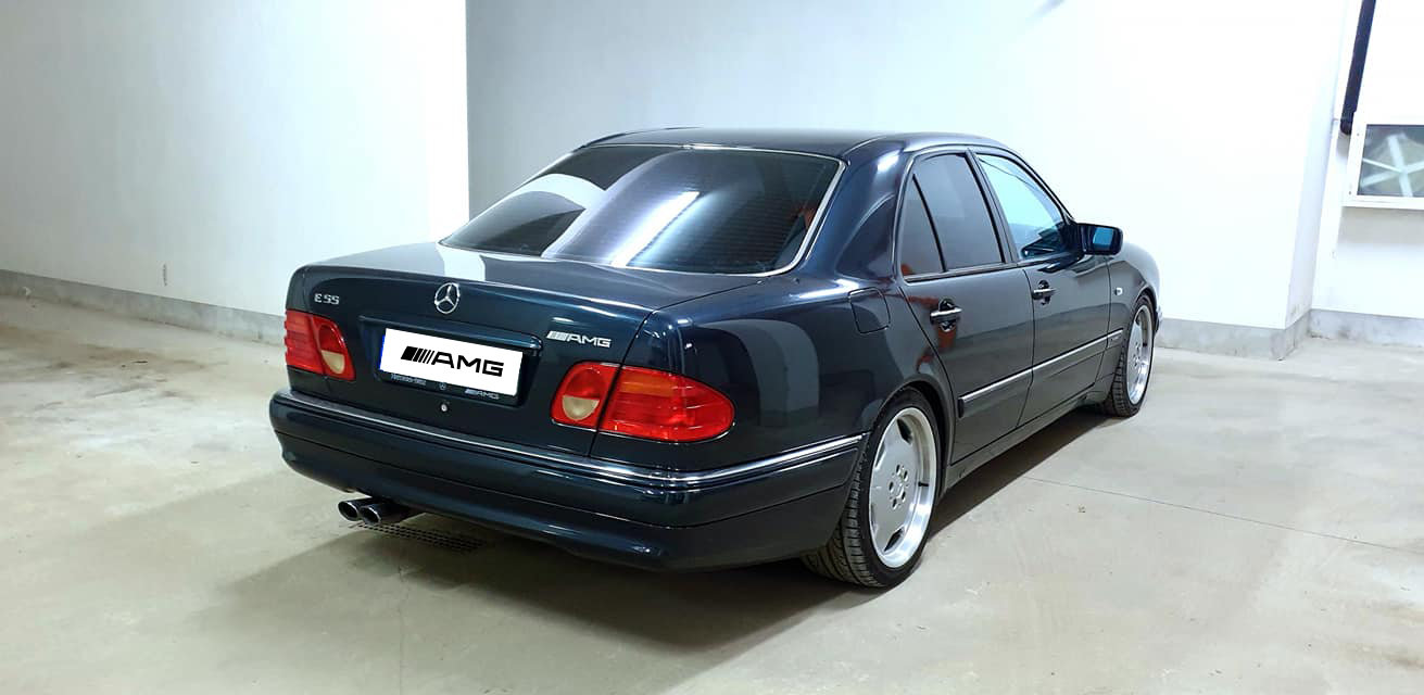 1998 E55 AMG W210 100% RUST FREE For Sale (picture 3 of 6)
