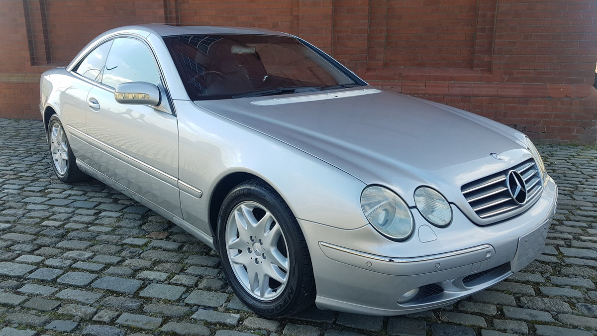MERCEDES CL 500 COUPE 5.0 FRESH IMPORT 32000 MILES For Sale (picture 1 of 6)