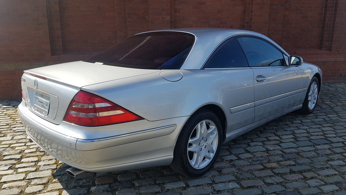 MERCEDES CL 500 COUPE 5.0 FRESH IMPORT 32000 MILES For Sale (picture 2 of 6)