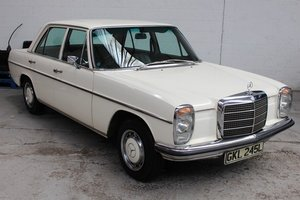 1972 Mercedes 250 Saloon For Sale by Auction