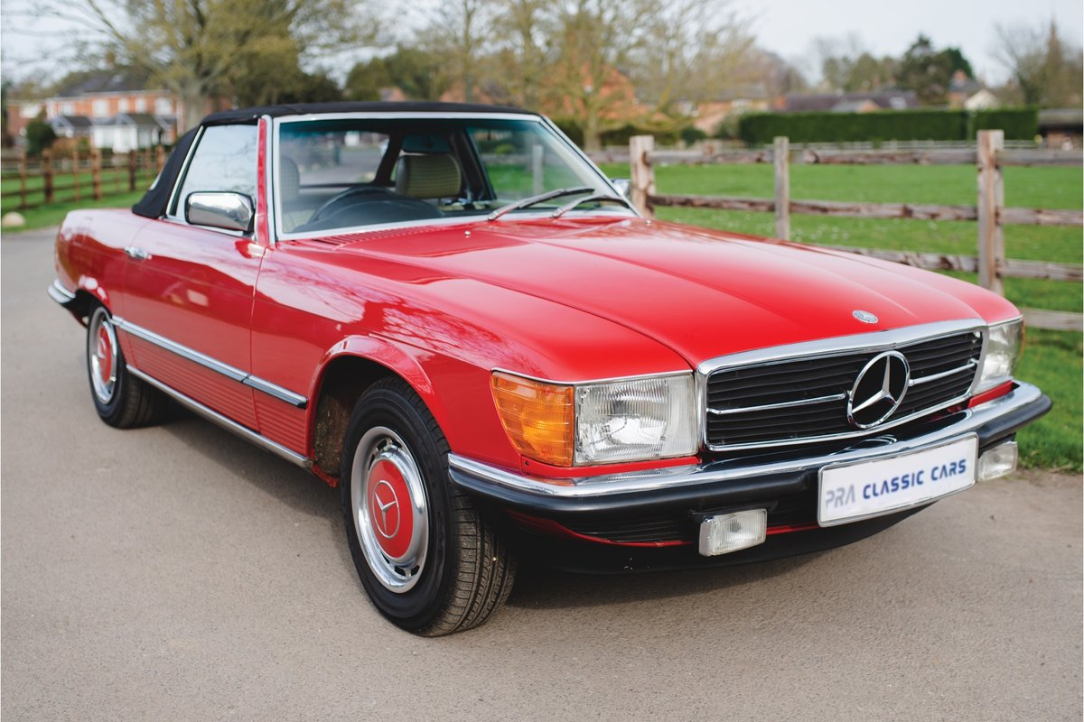 1981 MERCEDES SL 280  R107 4 SPEED AUTO SOLD (picture 1 of 6)