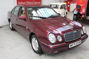 AUCTION: 1995 MERCEDES E250D ELEGANCE For Sale by Auction