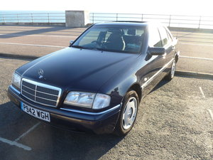 1997 Mercedes-Benz C230 Elegance (V. LOW MILEAGE) For Sale